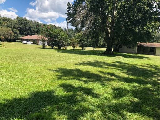 Lawn care in Jacksonville FL by Pyramid Lawn Services